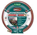 Flexon 5/8-Inch by 75-Foot Professional Garden Hose CX5875