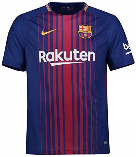 貫通仲間扇動NIKE(ナイキ) FCバルセロナ ホームユニフォーム 2017/18 FC Barcelona Home Shirt 2017/18 [並行輸入品]
