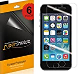 [6-Pack] Supershieldz for iPhone SE / 5S / 5C / 5...
