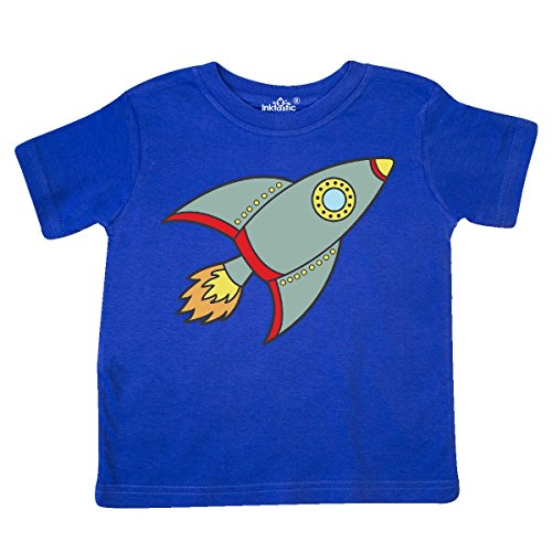 Royal Blue Shuttle - inktastic Rocket Toddler T-Shirt 3T Royal Blue