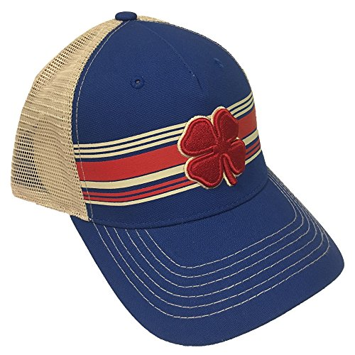 Red Stone Royal (Black Clover Red/Royal-Red/Stone Pipeline Luck 1 Snapback Hat)