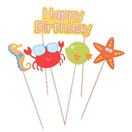 shyymaoyi - Adorno para Tarta de cumpleaños, diseño de ...