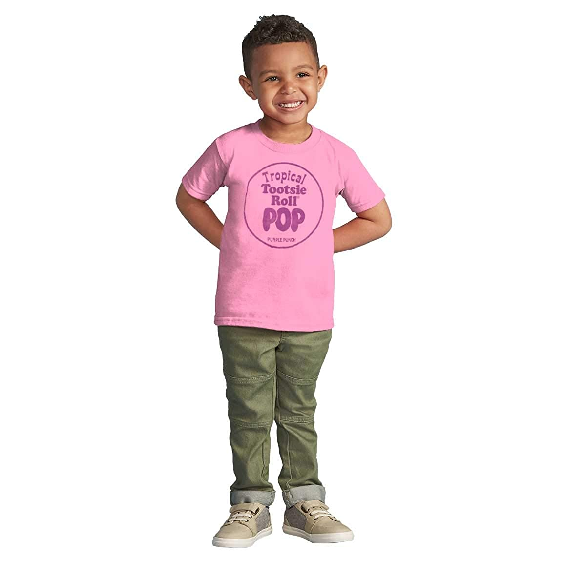 Topical Purple Punch Vintage Tootsie Pop Infant Toddler T Shirt