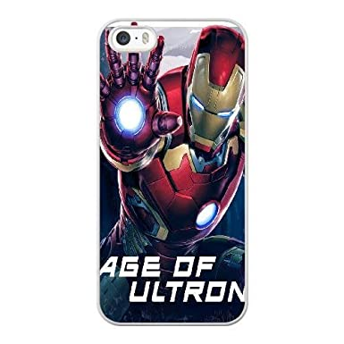 Custom Phone Case for iPhone 4 4s Color White AVENGERS AGE