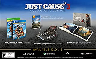 Just Cause 3 Collector's Edition - PlayStation 4 (B010XNHJOI) | Amazon price tracker / tracking, Amazon price history charts, Amazon price watches, Amazon price drop alerts