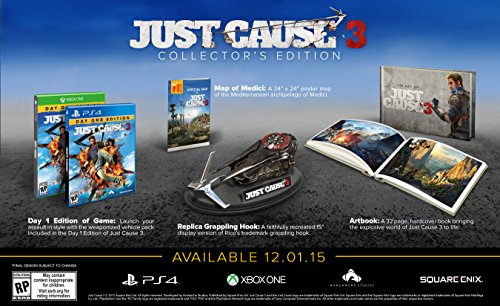 Just Cause 3 Collector's Edition - PlayStation 4 - Medici Gold Finish