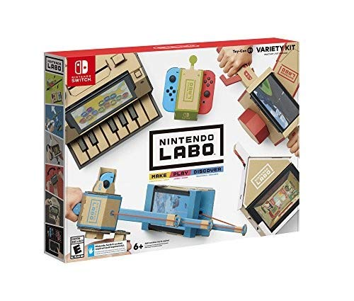 Nintendo Labo - Variety Kit - Game Shop Top Board