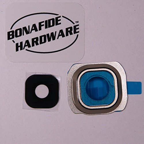 Bonafide HardwareTM - Galaxy S6 Camera Glass lens replacement USA seller (Gold)