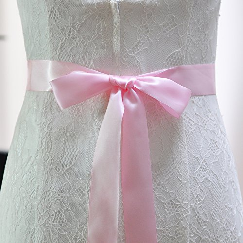 Fusciacche Azalee Perle Da Nozze Per Sposa Abito Cintura Da Di Cinture Sposa Cristallo Battente Rosa ETaqdT
