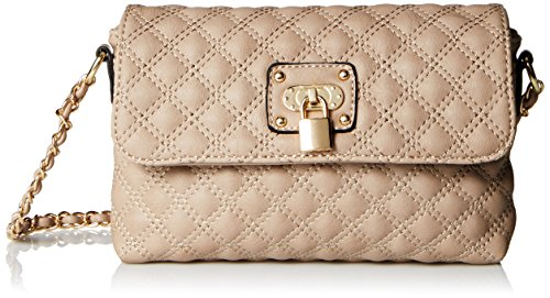 MG Collection Erika Small Satchel, Beige, One Size: Amazon.in: Shoes &  Handbags