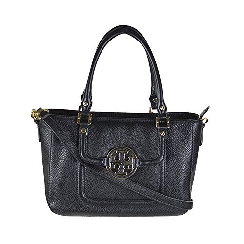 Tory Burch 'Amanda Mini' Satchel Handbag Black Amanda Bag