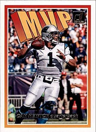d0d58bae4 2018 Donruss MVP Football Card  3 Cam Newton NM-MT Carolina Panthers  Official NFL