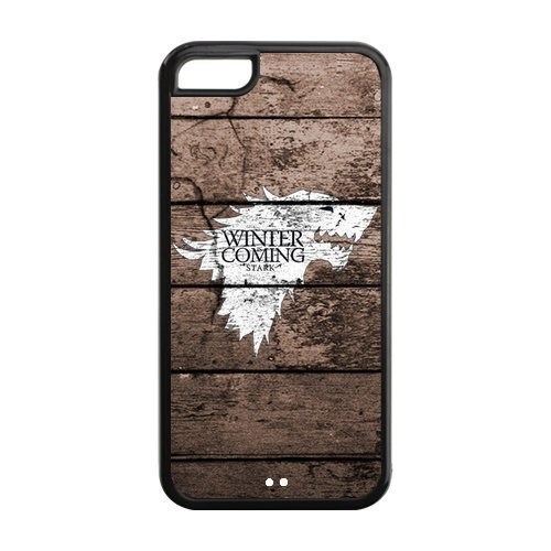 Case With Iphone 5C,Game of Thrones Design TPU Screen Protector Hard Case for Apple iPhone 5c