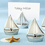 Table Decoration - Wedding Party Seat Clip Sailing Boat Table Name Card Holder Reception Favor Decoration S2017108 - Pink Center Garland Ideas Silver Xmas Lantern Graduation Sled Runner