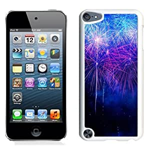 NEW Unique Custom Designed iPod Touch 5 Phone Case With New Year Fireworks HD_White Phone Case wangjiang maoyi
