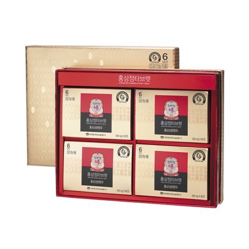 Cheong Kwanjang By Korea Ginseng Corporation Korean Red Ginseng Extract Tablet 500mg x 240 Tablet (4 Box/1 Set) by Cheong Kwan Jang by Cheong Kwan Jang