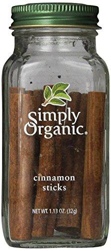 Simply Organic Cinnamon Sticks, 1.13 Ounce