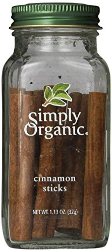 Simply Organic Cinnamon Sticks, 1.13 Ounce