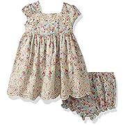 Laura Ashley London Baby Girls Garden Party Dress, Multi, 12M