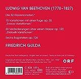 Beethoven: 32 Piano Sonatas / Eroica Variations / Diabelli Variations / Bagatelles