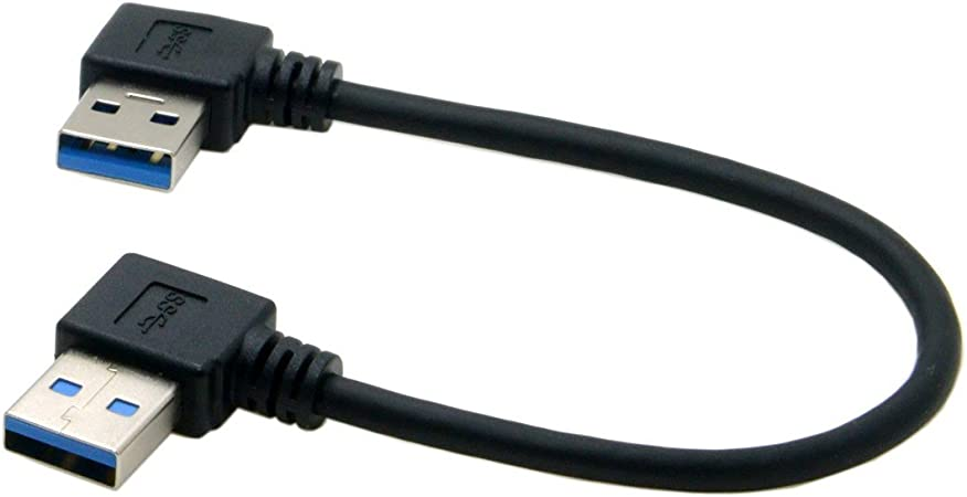 Usb 3 0 Typ A Stecker 90 Grad Links Gewinkelt Auf Usb Computer Zubehör