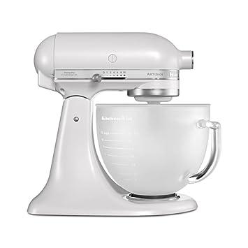 KitchenAid 5KSM156 Robot da cucina, 300W, 4.8L, Bianco: KitchenAid ...