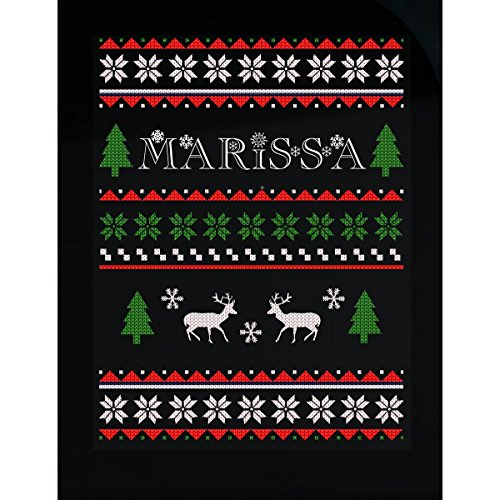 Prints Express Ugly Christmas Sweater for Marissa Great Funny Gift for The Holidays - Sticker