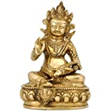 """Redbag """"Kuber"""" Brass Statue ( 7.25""""H x 5""""W x 4""""D )"""