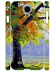 Colorful Vivid Trees Pattern Tough Phone Drop Proof Case for Samsung Galaxy S4 I9500