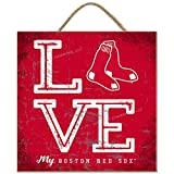 Prints Charming Boston Red Sox Color Love My Team - Square