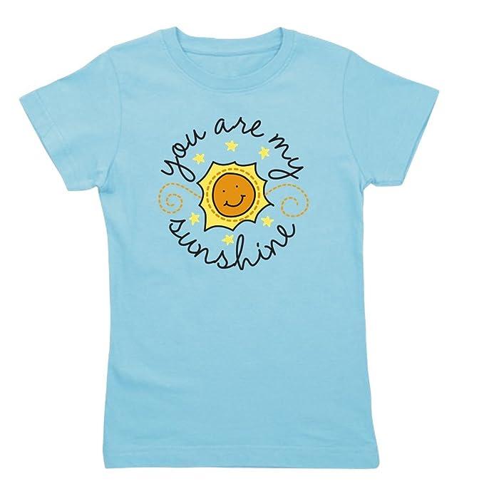 80245c951ae6 Amazon.com: CafePress - You are My Sunshine - Girl's Cotton T-Shirt ...