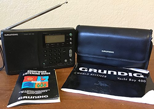 Grundig YB-400 Yacht Boy World Receiver Short Wave Portable Radio - Black (Yacht Grundig)