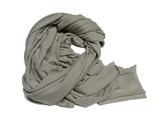 presa di fabbrica economico in vendita marchi riconosciuti Avantgarde Pashmina uomo donna tortora tutte le stagioni sciarpa ...