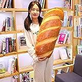 3D Simulation Bread Shape Plush Pillow,Soft Butter