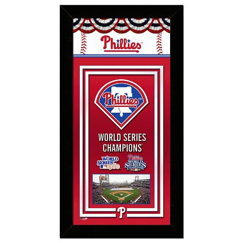 Fan Photo Phillies (MLB Collection Framed Photo - Phillies Championship Banner)