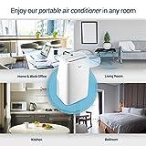 DELLA 14000 BTU Portable Air Conditioner 11000