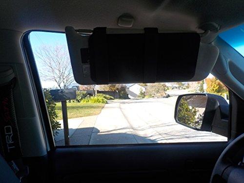 Visormates Side Window Sun Visor Extenders (6x13 Black with Black Straps)  to add to 9eeda43f9a0