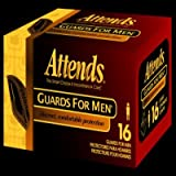 Attends MG0400 Male Guards, Unisize (Pack of 64)