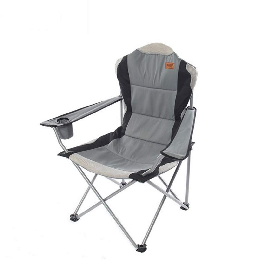 FUBULECY Multifunktions- im Freienfreizeit-Strand-Stuhl-Klappstuhl-Sessel mit Baumwolle