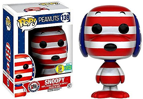Funko POP! Snoopy Rock The Vote Summer 2016 Convention Exclu