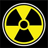 Radioactive Nuclear Radiation Vinyl Decal Sticker|Cars Trucks Vans Walls Laptops Cups|Full Color|5.5 In|KCD766