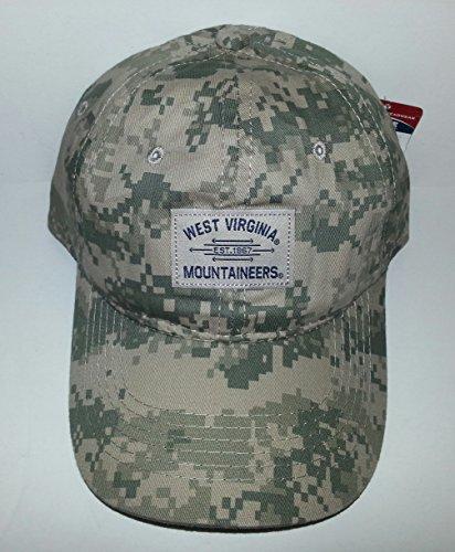 (West Virginia Mountaineers Adjustable Snapback Hat Camo)