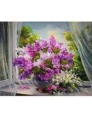 Xurgm DIY Pintura al óleo Pintura guiada por números Lanzamientos Kaufmann–DIY Gemälde Mediante números, Pintura guiada por números Kits Pintura al óleo Digital de 16x 20inch