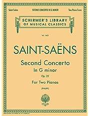 Concerto No. 2 in G Minor, Op. 22: Schirmer Library of Classics Volume 1405 2 Pianos, 4 Hands