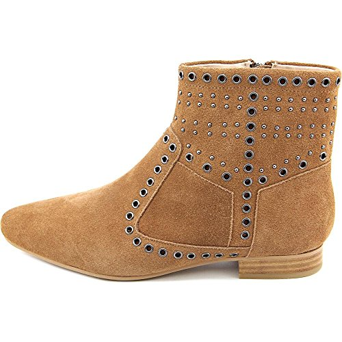 Boots Womens Charlene Toe Connection Leather Tan Pointed French Ankle Fashion AwUq41Zn7x