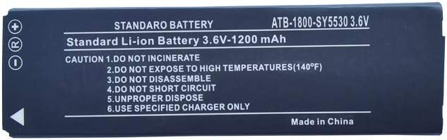 ATB-900-SY5531 Battery,JIE Li-Polymer Battery ATB-1800-SY5530 Replacement for RTI T2i, T2X, T3X System Controllers