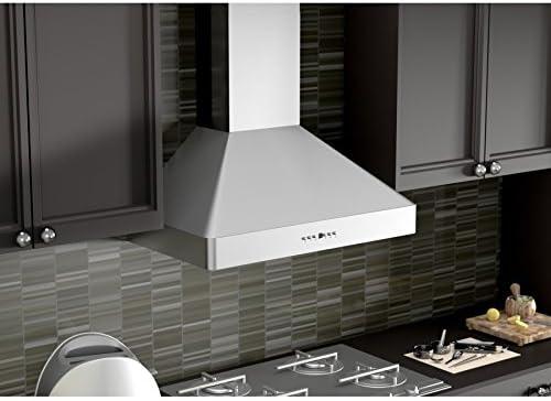 Zline 30 In Professional Wall Mount Range Hood In Stainless Steel 9697 30 Appliances