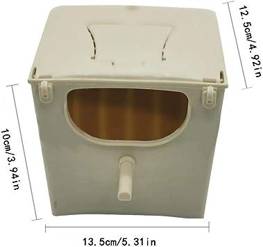 AIHOME Caja nido de pájaros, caja de nido de pájaros para jaula de pájaros, caja de apareamiento para periquitos, cacatúa: Amazon.es: Hogar