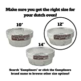 """CampLiner Dutch Oven Liners, 12 Pack of 12"""" 6"""