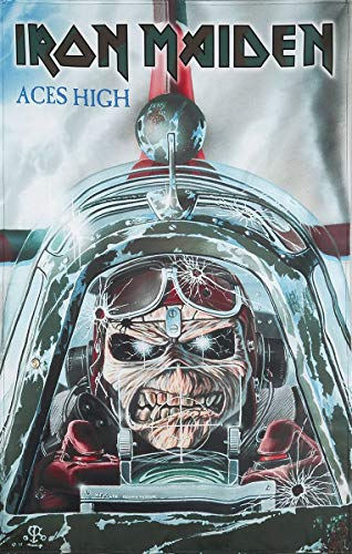 Iron Maiden Fabric Poster Flag - High Aces